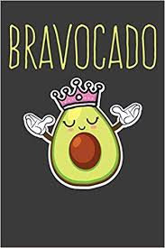 Bravocado: A Cute Avocado Notebook: Alledras Designs ...